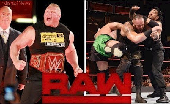 wwe raw 1 august 2017 highlights -results