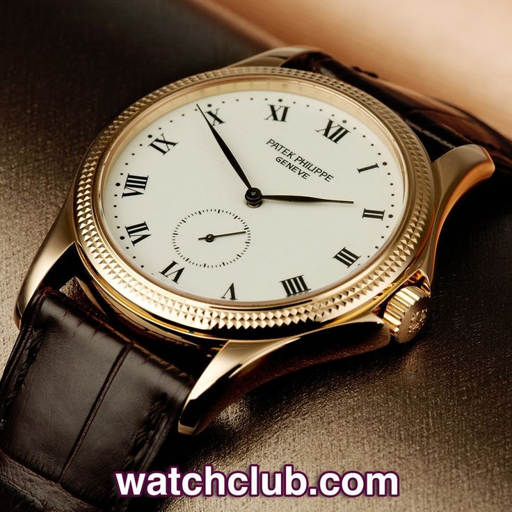 Patek Philippe Calatrava - 'Rare Enamel Dial' REF: 5115R | Year May 2006 - Enamel dial Patek's are a wonderful rarity, so this 5115R 'Calatrava' is a real find! In beautiful condition, this 35.5mm 18ct rose gold case features a crisp hobnail bezel, elegantly sculpted crown guards and houses Patek Philippe's superb manual wind movement (215 PS). Fitted to a brand new brown alligator Patek strap and secured with a rose gold pin buckle - for sale at Watch Club, 28 Old Bond Street, Mayfair…
