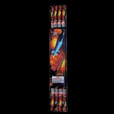 Buy Fireworks Online @ www.thunderkingfireworks.com FREE SHIPPING AND FINANCING AVAILABLE !! HOW COOL IS THAT ?!  Sky Rockets : Saturn V Heavy Lifter 8/Pk