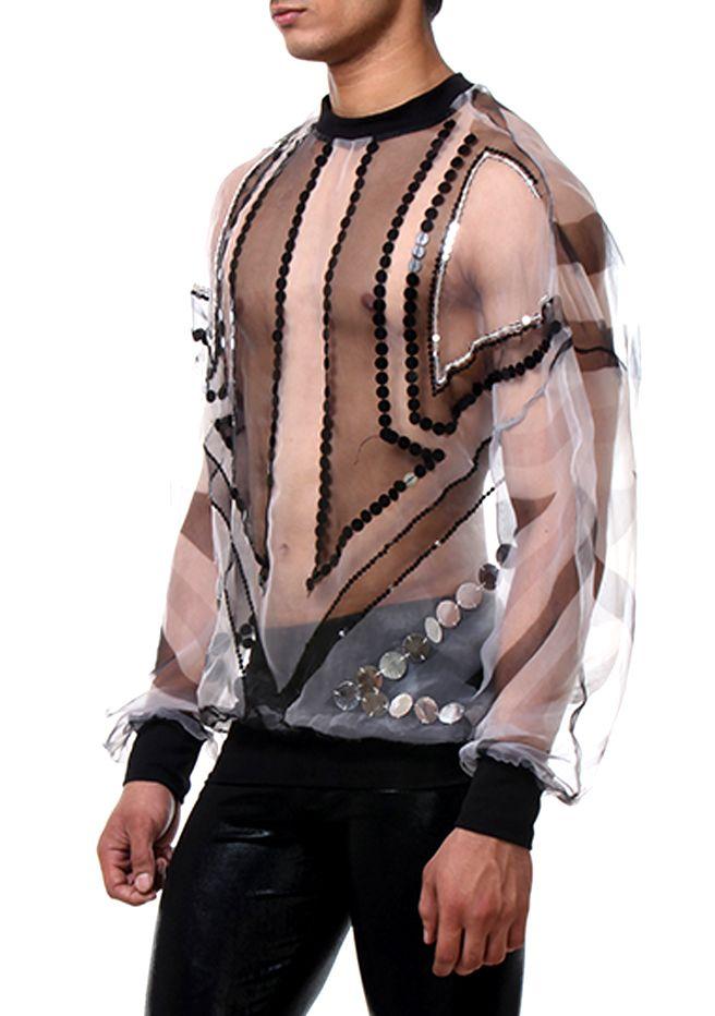 sweatshirt stripes  transparent men style side www.rubengalarreta.com