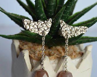 Orecchini adularia,orecchini pietra di luna,orecchini argento 925,orecchini pietre dure,orecchino moderno,orecchino catena,made in Italy