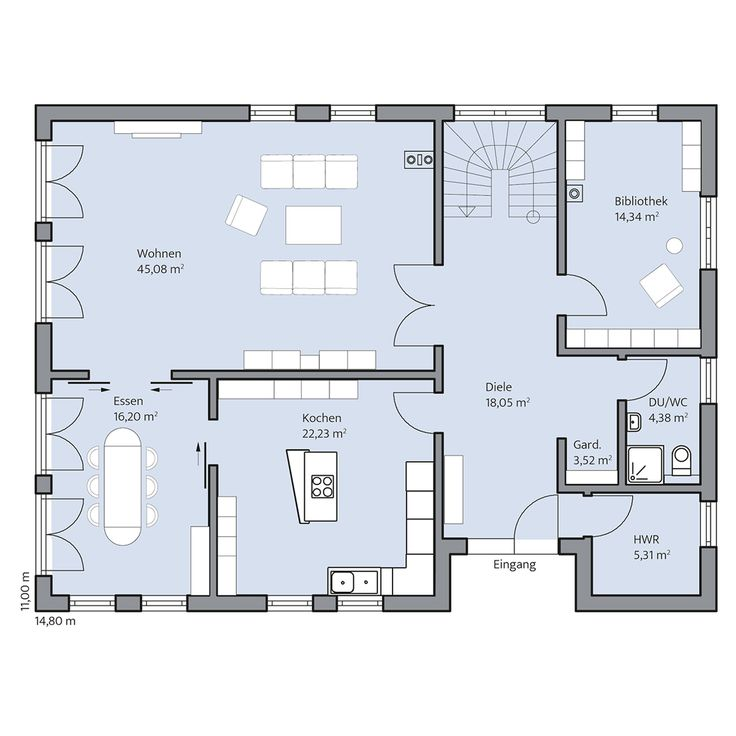 Haus Berger –Erdgeschoss