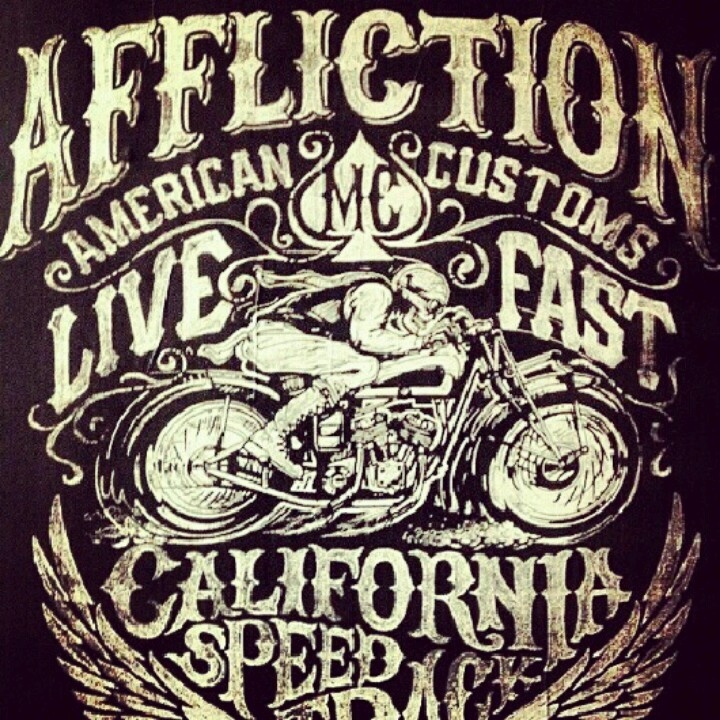 affliction clothing brand.. so hot