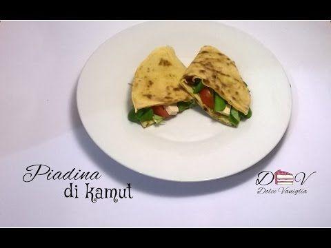 Piadine con farina di kamut - Guide di Cucina