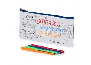 Funbox Activities Colour In Super Pencil Case. Super, Duper and Amazing!  #Super  #amazing #wonderful #getonit #funboxactivities @funboxactivities #kids #colouringin #kidsactivities