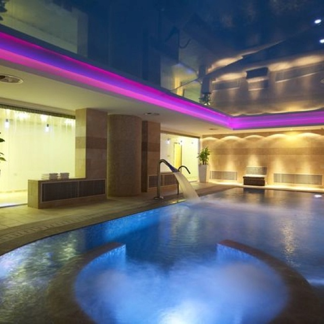 Sensimar Royal Blue Resort, Crete. Pure Senses spa. The second best spa therapies we had after those in Monaco!
