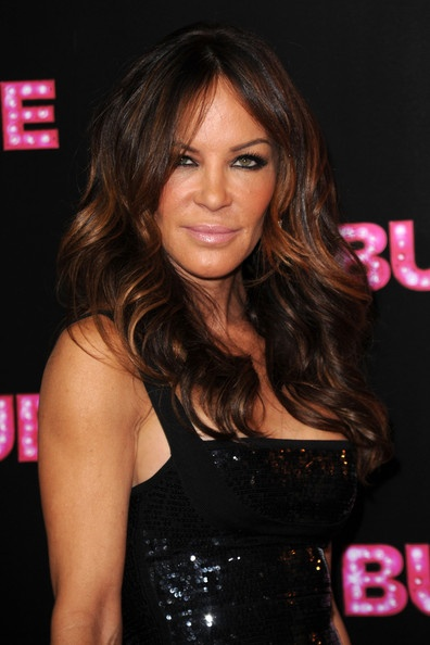 Robin Antin looks like the cat lady with alll the plastic surgery but her hair is fab!