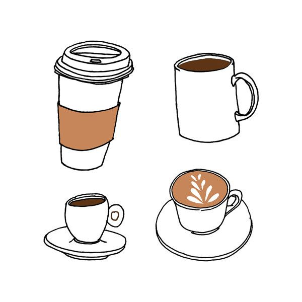Wake up! Julia Rothman's latest temporary tattoo is an homage to our favorite caffeinated drink (that isn't tea). Each sheet comes with four different serving options, for each time you need a refill.