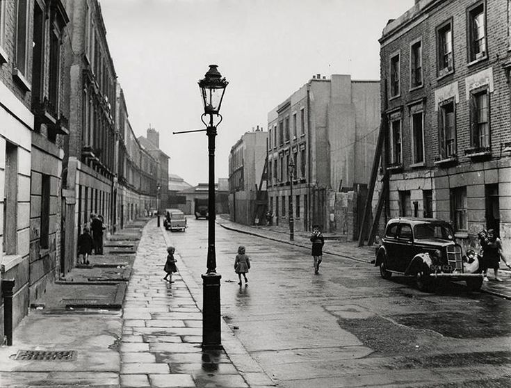 Brindley Road, Paddington, London, 1957, Roger Mayne. English