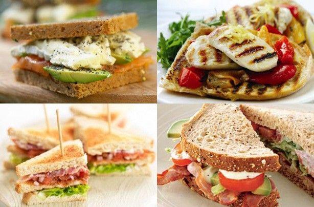 20 tasty sandwich fillings