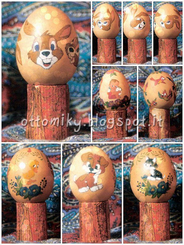 Otto&Miky: Uova Decorate per Pasqua