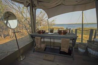 Nice view from the bathroom at Duma Tau (Botswana - Caroline Culbert)  www.adventuresinafrica.com