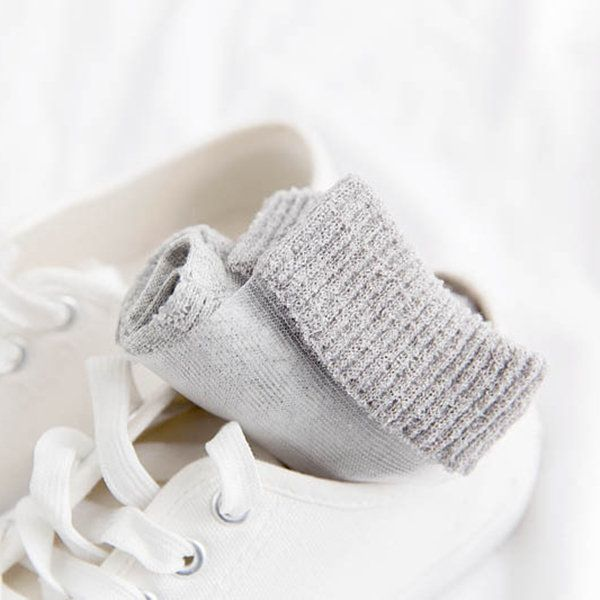 Women Summer Mesh Middle Tube Socks Breathable Cotton Hollowed-out Socks online - NewChic