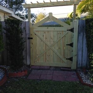 Check out this project on RYOBI Nation - My friend needed new gates so I built…