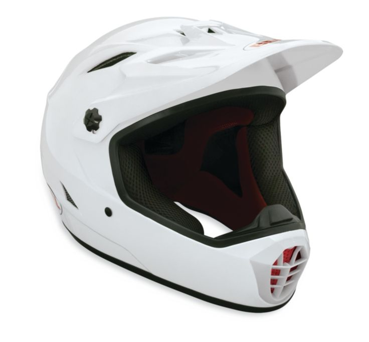 Bell Drop Fullface Mountain Bike Helmet - advanced protection and features at a reasonable price. Frequently modified for longboarding, the Bell Drop helmet is a true workhorse in the full-face helmet category. The Bell Drop is one of a few fullface helmets that complies with the ASTM F-1952 Downhill Mountain Bike helmet standard as well as the CPSC and CE EN1078 bicycle standards - so you know you're well protected.