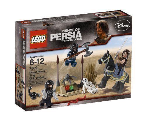 LEGO Prince of Persia 7569 Desert Attack  NEW! Factory Sealed Set  FAST SHIP