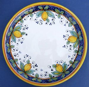 Limone Round Serving Plate - Large