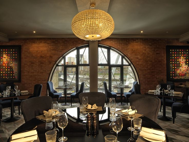 Our Sparkle pendant at Chez Mal Brasserie at Malmaison Newcastle