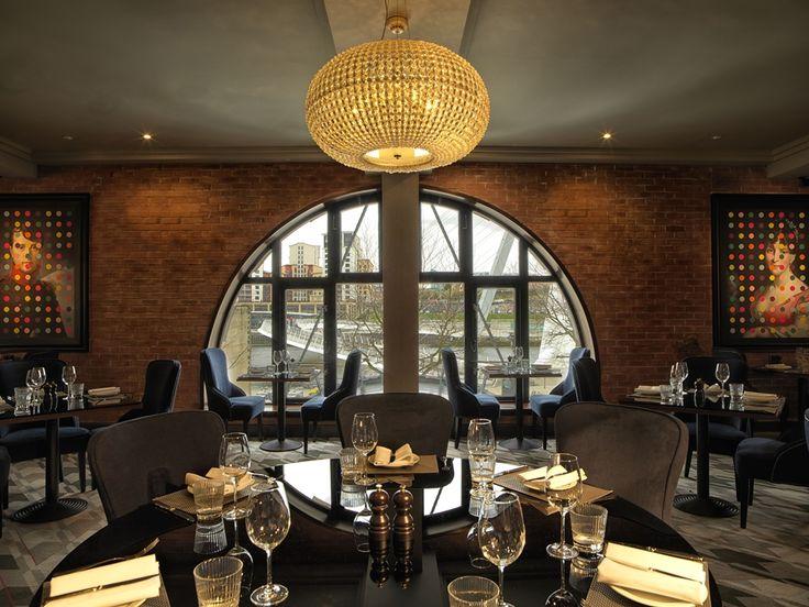 Our Sparkle pendant at Chez Mal Brasserie at Malmaison Newcastle