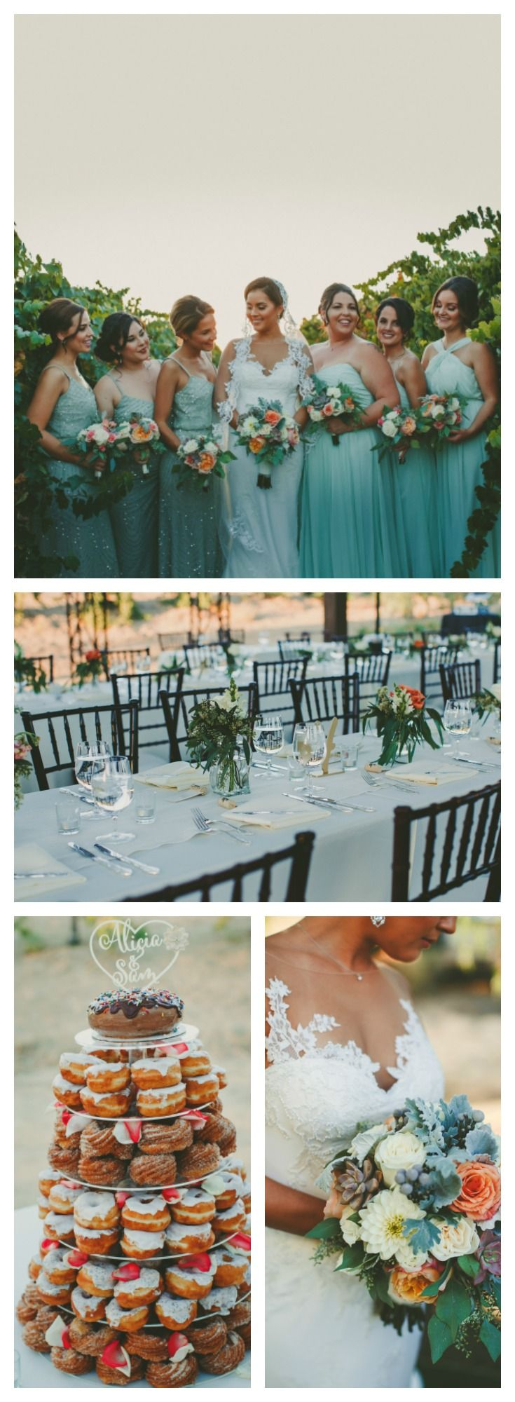 Sam and Alicia's Temecula Wine Country Wedding | #realwedding weddinginspiration #wedding