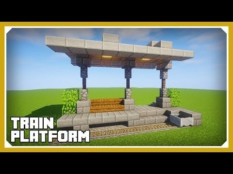 minecraft how to build a train