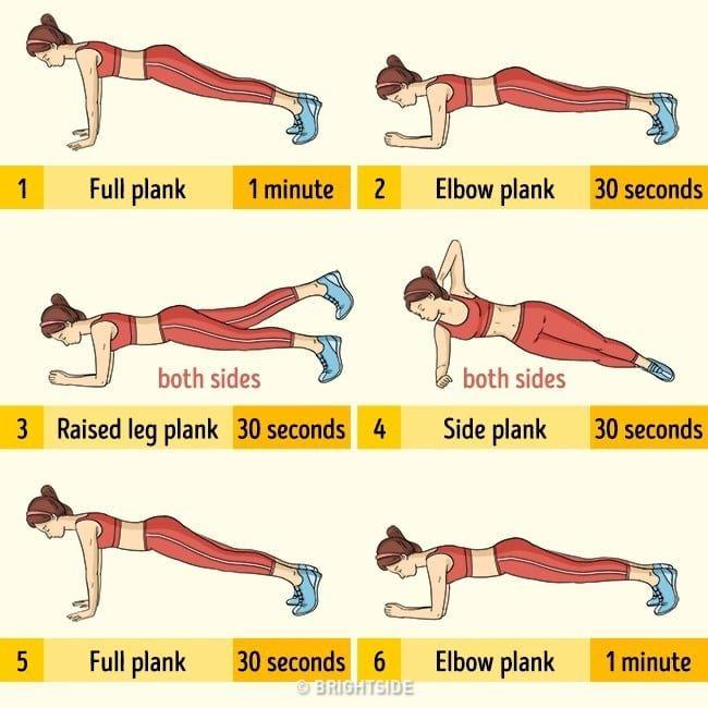 LepšíJá.cz - Prkno neboli plank - Efektivní cvik na střed těla | Plank  workout, Fun workouts, Squat workout
