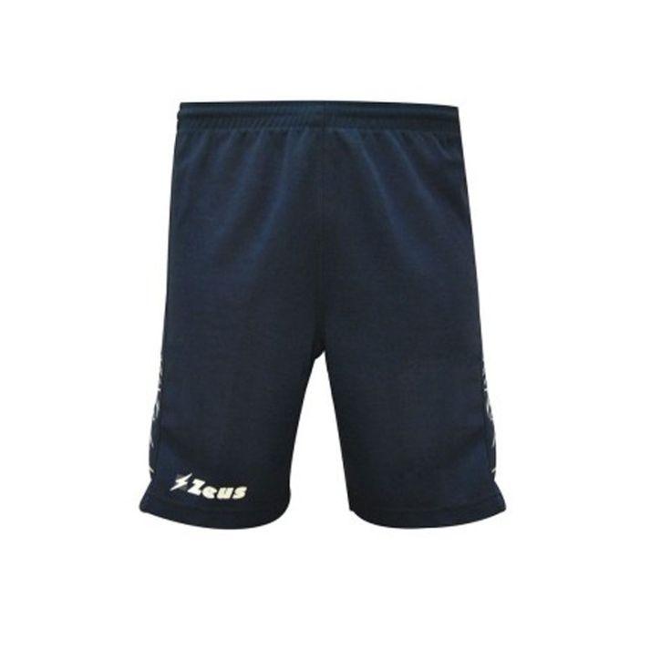 Bermuda Zeus modello Enea 85% poliestere 15% cotone ideale per allenamento e corsa. #Pegashop vendita e personalizzazione abbigliamento sportivo uomo e donna