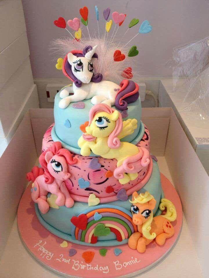 My Little Pony Fondant Cake Topper