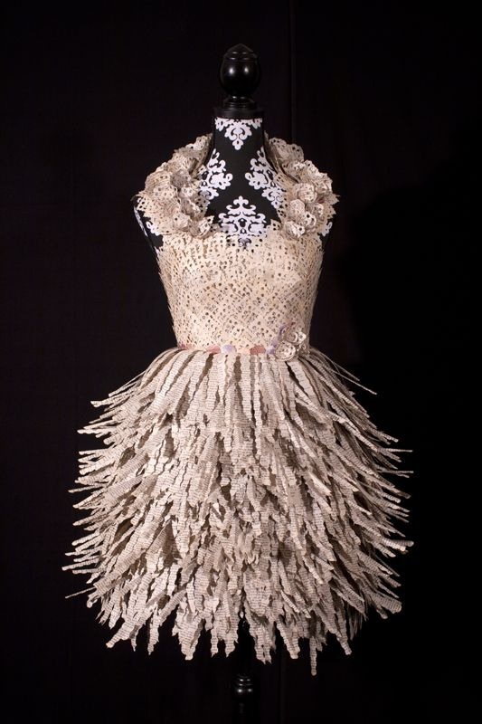 Paper Dresses | Artist: Carrie Ann Schumacher | Poeme Blog