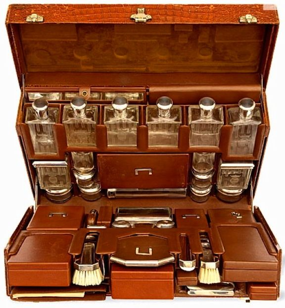 Karen Blixen's Hermès Luggage - 1930 - Custom made by Hermès for the author of 'Out of Africa'