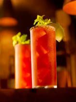 Bloody Ceasar...nothing like it to start off a morning on your day off or end a hard day and relax.