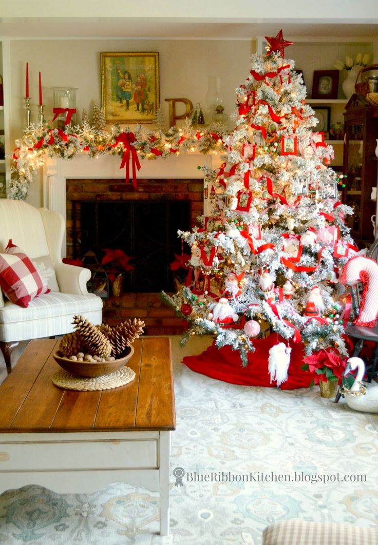 37 Best Santa Claus Theme Tree Images On Pinterest Christmas