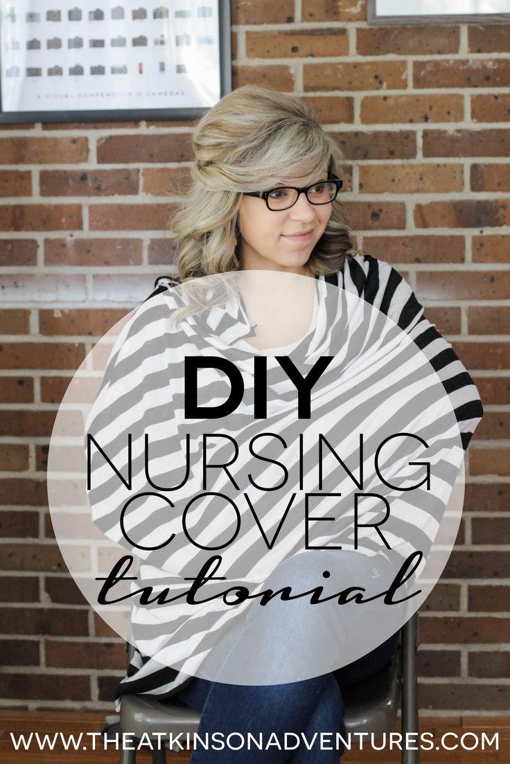 The Atkinson Adventures | DIY | 2 in 1 Nursing Cover   Infinity Scarf Tutorial | http://www.theatkinsonadventures.com