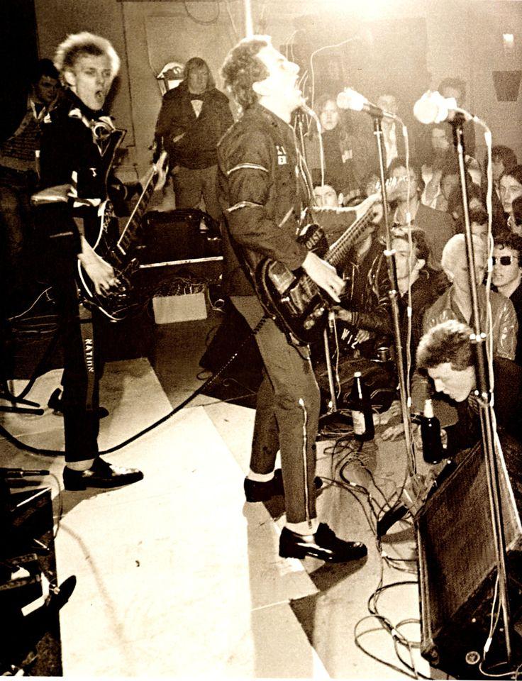 The Clash, Harlesden Coliseum - March 1977