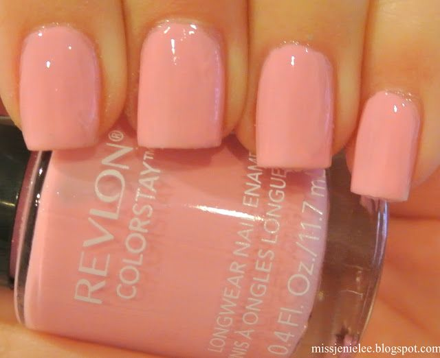 I used Revlon Colorstay in 060 Cafe Pink.  In honor of Vday month, I kept it simple with baby pink.  I know on the day of my Vday date...
