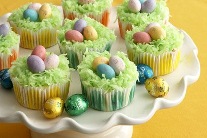Mini Easter Cheesecakes | Holiday Baking | Pinterest