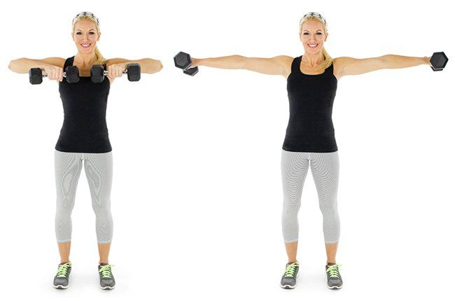 Движение для похудение рук