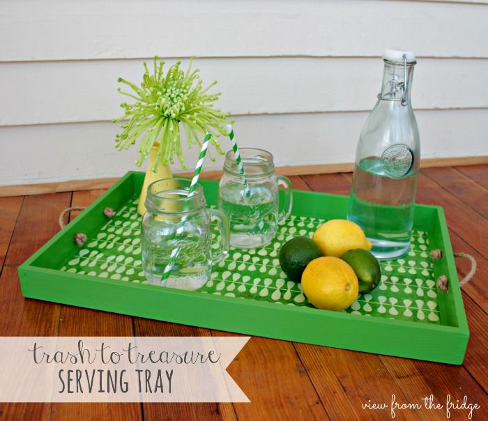 Upcycled Toy Tray | View From The Fridge