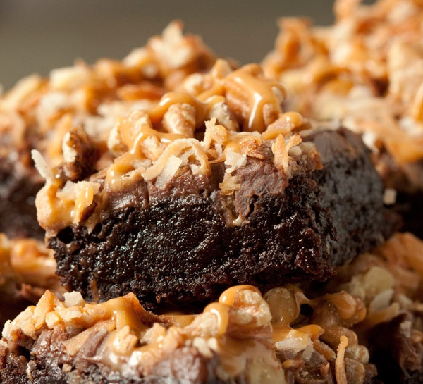 100% Whole Grain German Chocolate Inspired Brownies | Recipe