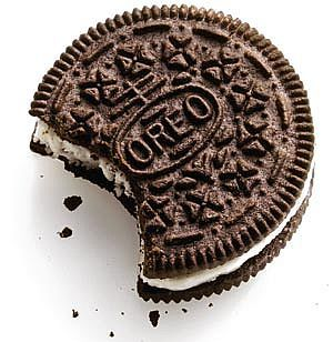 Toothpaste-filled Oreos-  Scrape out cream centers and carefully fill with white toothpaste!