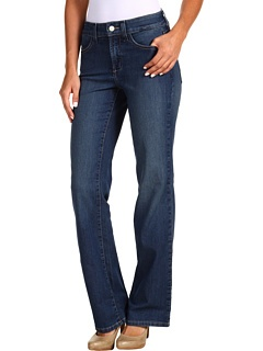 """NYDJ at 6pm. Free shipping, get your brand fix! I am very impressed by the shape of NYDJ. they are cut to fit a female body, and you don't have to be frumpy either. I had given up on jeans. 125lbs on a 5.5"""" athletic frame (runner) size 6 fits great."""