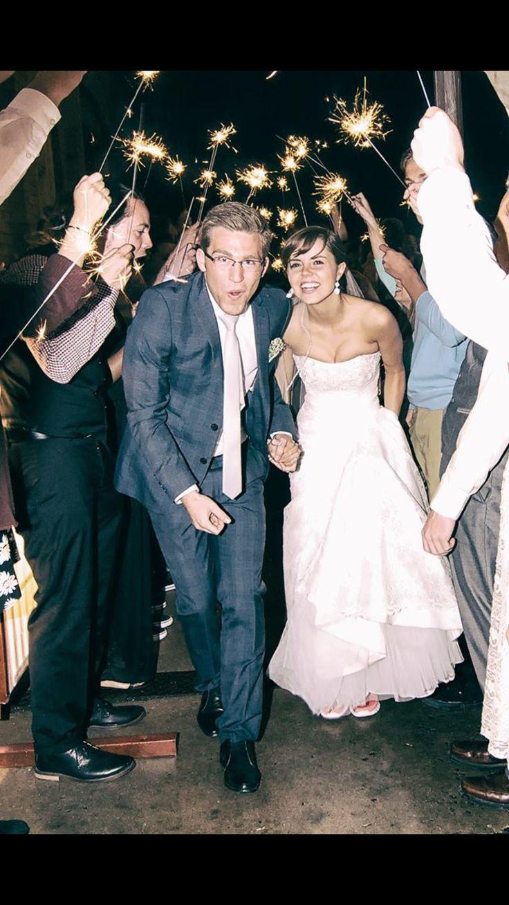 Wedding exit #wedding #thebigday
