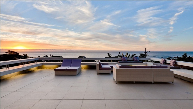 It's difficult to beat the view of Camps Bay from the roof terrace at Aquatic Villa.