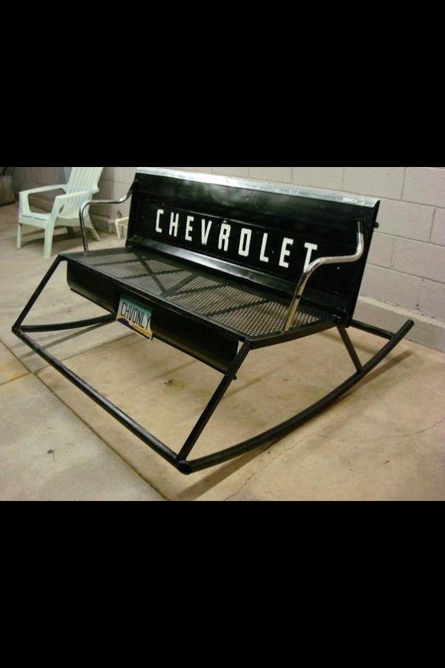 Tail gate bench/rocker