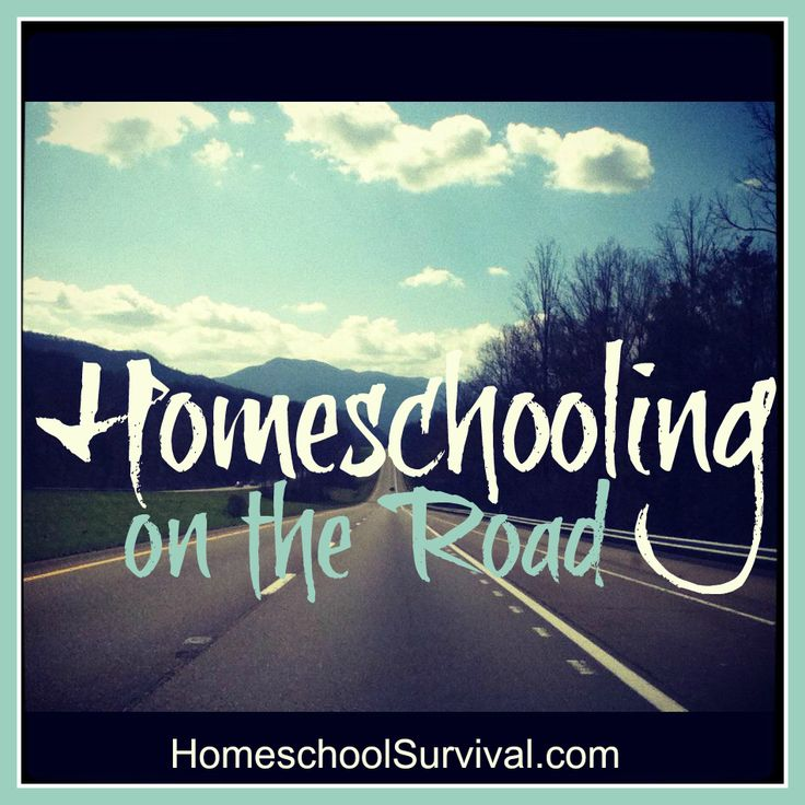 Homeschooling On The Road Advice From One Mom With Experience Taking Kids Trips Their Father Whose Job Requires Him To Travel