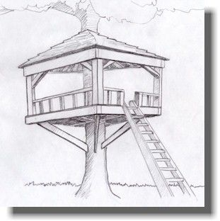 Kids Tree House Drawing 56 best project - treehouse images on pinterest | projects