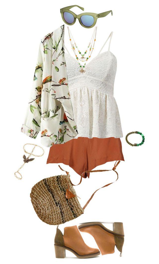I need spring already... by beachan on Polyvore featuring One Teaspoon, Miista, Betsey Johnson, Retrò, Topshop, women's clothing, women's fashion, women, female and woman
