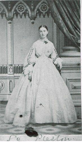 "Sally Buchanan Preston better known as ""Buck"" in Mary Chestnut's Civil War Diary"