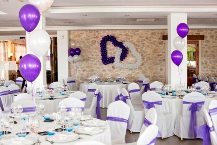 Decoraciones con globos boda p c bodas con love pinterest - Decoraciones con globos ...