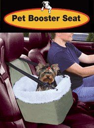 Etna Pet Booster Seat: $22.50 & FREE SHIPPING List price: $29.99 (Save 25%) (uses headrest to secure)